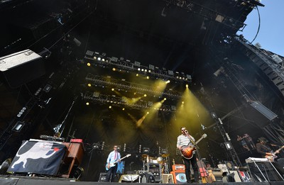 One of the highlights on the opening day was indie folk rock band from Portland, Oregon, The Decemberists hotting the main stage. Mark Wanzel/Barrie Examiner/Postmedia Network