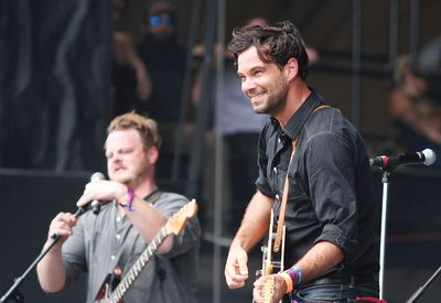 The Lone Bellow perform at the first Wayhome Music and Arts festival in Oro-Medonte, Ont., on Saturday July 25, 2015. MATT DAY/POSTMEDIA NETWORK