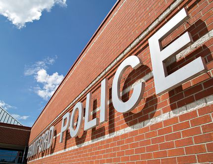 The Brantford Police station on Elgin Street in Brantford, Ontario. Brian Thompson/Brantford Expositor/Postmedia Network