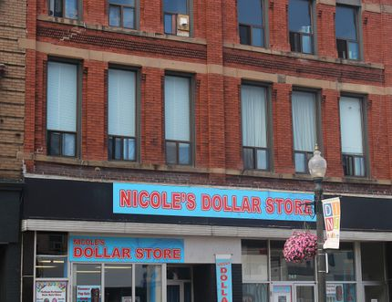 Nicole's Dollar Store is located on Dundas Street near Vansittart Avenue. It's one of the independent dollar stores on Dundas Street, along with the recently relocated Buck Buck Goose. (MEGAN STACEY/Sentinel-Review)
