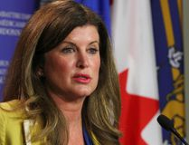 Federal Health Minister Rona Ambrose speaks during a press conference in Calgary, Alta on May 28, 2015. Jim Wells/Postmedia Network