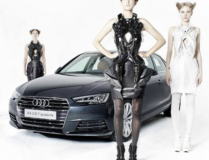 Your chance to wear an Audi A4
