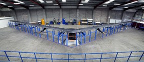 Aquila, a drone with a 40-metre wingspan built by social media company Facebook, is shown in this publicity photo released to Reuters on July 30, 2015. REUTERS/Facebook/Handout