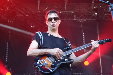 Jamie Hince of The Kills performs at the Osheaga Music and Arts Festival in Montreal on Friday, July 31, 2015. (John Williams, Postmedia Network)