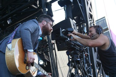 Colin Meloy of The Decemberists performs at the Osheaga Music and Arts Festival in Montreal on Friday, July 31, 2015. (John Williams, Postmedia Network)