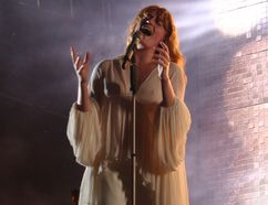 Florence Welsh of Florence + The Machine performs at the Osheaga Music and Arts Festival in Montreal on Friday, July 31, 2015. (John Williams, Postmedia Network)