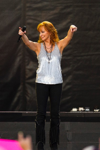 Reba McEntire performs on the main stage during Big Valley Jamboree 2015 in Camrose, Alta. on Friday July 31, 2015. Ian Kucerak/Edmonton Sun/Postmedia Network