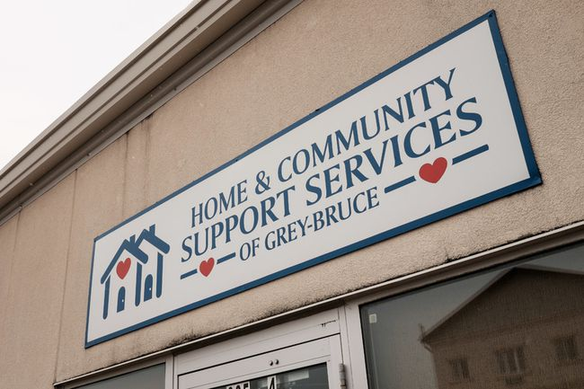 The Home and Community Support Service of Grey-Bruce (HCSS) centre at Sutton Park Mall in Kincardine, Ont. where the Day Away program currently operates. At the end of September, the program will be moved to Port Elgin and HCSS will move to a smaller location in Kincardine. July 29, 2015.