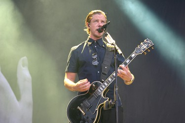 Interpol performs at the Osheaga Music and Arts Festival in Montreal on Saturday, August 1, 2015. (John Williams, Postmedia Network)