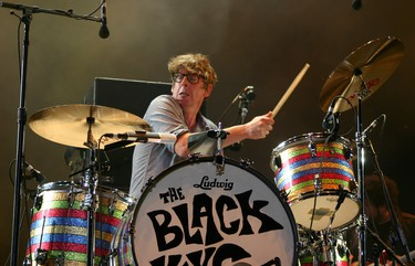 The Black Keys perform at the Osheaga Music and Arts Festival in Montreal on Sunday, August 2, 2015. (John Williams, Postmedia Network)