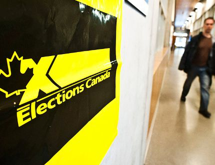 The last election saw a 61% voter turnout in Canada. POSTMEDIA NETWORK