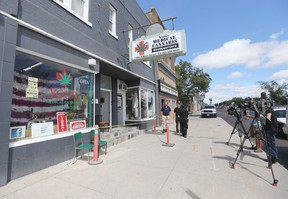 Winnipeg police raided Your Medical Cannabis Headquarters, operated by Glenn Price on Aug. 4, 2015. A week later, he has re-opened in a new format.
