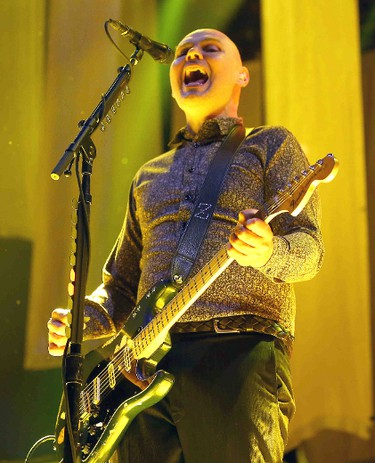 The Smashing Pumpkins perform at the Molson Amphitheatre in Toronto, Ont. on Tuesday August 4, 2015. Dave Abel/Toronto Sun/Postmedia Network