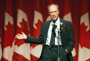 """Former prime minister Pierre Trudeau was seen as """"cold"""" on camera. But his son is seen as """"warm.""""  (Reuters Files)"""