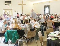 Approximately 130 people attended the gala held at Vanastra Community Christian Reformed Church. (Dave Flaherty/Goderich Signal Star)