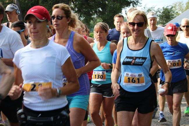 Some of the runners at the start of the five-km event at the Great Raisin River Footrace, on Sunday August 9, 2015 in Cornwall, Ont. Todd Hambleton/Cornwall Standard-Freeholder/Postmedia Network
