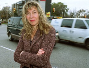 """NDP candidate Linda McQuaig, seen here in this 2004 file photo, angered oilsands supporters when she said: """"A lot of the oilsands oil may have to stay in the ground if we're going to meet our climate change targets."""" (Postmedia Network/File)"""