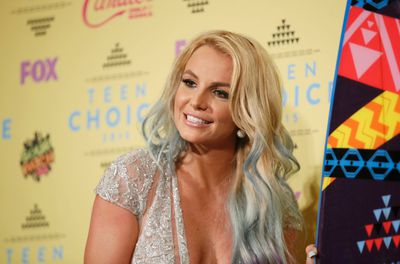 """Singer Britney Spears poses backstage at the 2015 Teen Choice Awards in Los Angeles, California, United States August 16, 2015.  (REUTERS/Danny Moloshok) <BR>Like the look?<div id=""""pd_rating_holder_8213542""""></div> <script type=""""text/javascript""""> PDRTJS_settings_8213542 = { """"id"""" : """"8213542"""", """"unique_id"""" : """"default"""", """"title"""" : """""""", """"permalink"""" : """""""" }; (function(d,c,j){if(!document.getElementById(j)){var pd=d.createElement(c),s;pd.id=j;pd.src=('https:'==document.location.protocol)?'https://polldaddy.com/js/rating/rating.js':'http://i0.poll.fm/js/rating/rating.js';s=document.getElementsByTagName(c)[0];s.parentNode.insertBefore(pd,s);}}(document,'script','pd-rating-js')); </script>"""