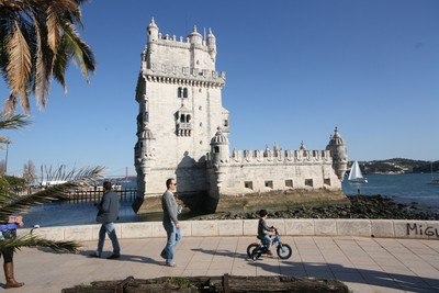 Lisbon Lisbon's riverfront features fantastic old forts that are great for kids and adults alike. JIM BYERS PHOTO