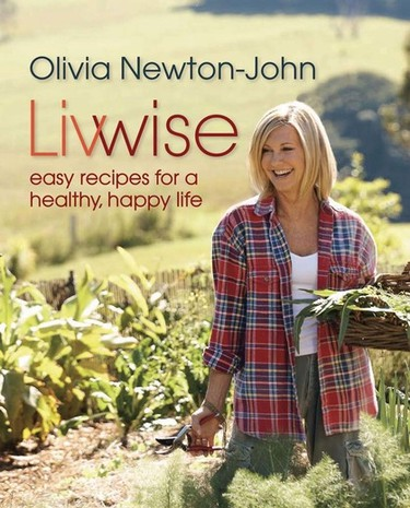 Seems simple enough. Olivia Newton-John put out Livwise: Easy Recipes for a Healthy, Happy Life in 2012.