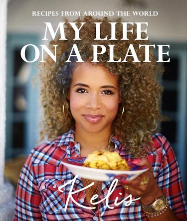 Singer Kelis is also a classically trained chef. She hosts the TV show Saucy and Sweet on the Cooking Channel, has her own line of sauces called Bounty & Full and will release her first cookbook MY Life on a Plate in Sepetember.