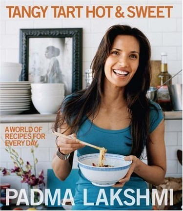 It seems only fitting that TV's Top Chef Host Padma Laksmi share her own culinary recipes. She released Tangy Tart Hot and Sweet: A World of Recipes for Every Day in 2007.