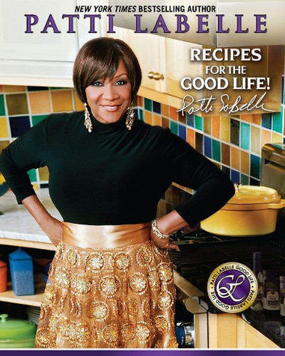 Legendary singer Patti LaBelle has three cookbooks; LaBelle Cuisine: Recipes to Sing About  (1999), Patti Labelle's Lite Cuisine (2004), and this most recent one Recipes for the Good Life released in 2008.