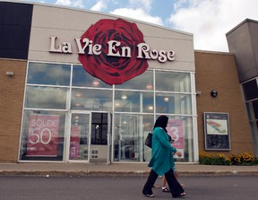 A La Vie En Rose store is seen Thursday, August 13, 2015 in Montreal. (The Canadian Press/Ryan Remiorz)