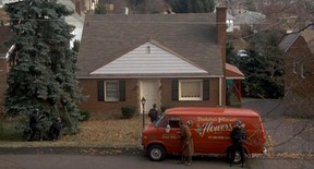 A scene from the movie Silence of the Lambs featuring the house in Perryopolis, Pennsylvania. (Screen shot)