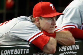 Phillies veteran Chase Utley appears to be heading to the Dodgers, according to reports. (Christian Petersen/Getty Images/AFP)