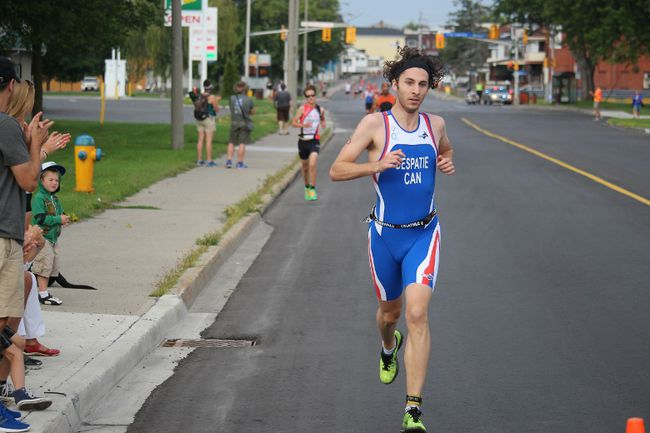 Athletes ran, swam and biked in Cornwall's Triathlon on Saturday, August 23, 2015  in Cornwall, Ont. Cornwall's 13th annual Triathlon saw hundreds come out from Ontario and Quebec for the race, including some Olympic hopefuls. Brent Holmes/Cornwall Standard-Freeholder/Postmedia Network