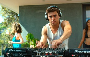 Zac Efron in a scene from We Are Your Friends (Handout photo)