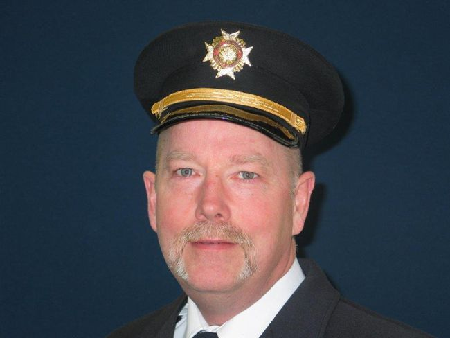 Owen Sound's new fire chief, Doug Barfoot. Supplied photo.