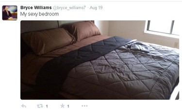 Screenshot from @bryce_williams7 Twitter account.