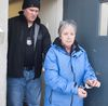 In this file photo, Port Hope Police escort school teacher Leslie Barton to a police cruiser for her first court appearance facing charges of sexual exploitation and sexual assault involving a former student at the school in Port Hope, Ont. on Feb. 12, 2015. Barton turned herself in to police. Pete Fisher/Northumberland Today/Postmedia Network/File