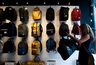"""ON BACKPACKS AND THE OCCASIONAL SPLURGE""""It's usually better to spend a little more on a quality backpack that's going to last, than on a very inexpensive backpack advertised to get you in the store,"""" Kuczykowski says.A cheap backpack she bought for one of her kids fell apart in short order, after which Kuczykowski splurged four or five times that price for Lands End backpacks that lasted through all of elementary school.""""It's one of the times that quality wins out over price."""" (The Canadian Press)"""