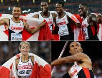 Canada track medallists