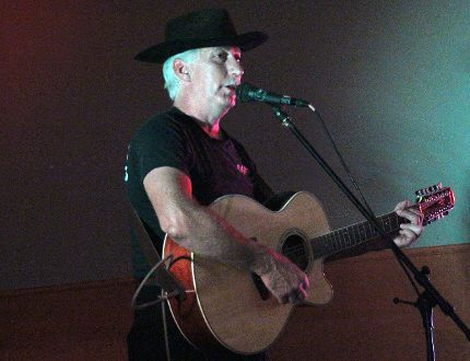 Barry Panke entertains the crowds gathered at the Legion Hall for Summer Fest 1, held at Pembroke Branch 72 of the Royal Canadian Legion Friday. The day long event raised funds to help with the branch's operation.