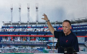 It appears likely Mark Shapiro will be named new Blue Jays president, possibly as early as Monday. (AFP/PHOTO)