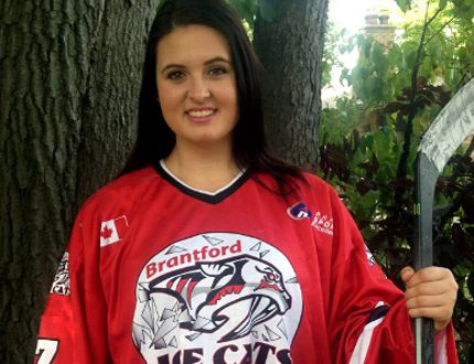At 17 years of age, Joelle Boissonneault of Timmins is set to hit the ice for her first season with the Midget 'AA' Brantford Ice Cats. Though it's a big move ahead of her Grade 12 year, Boissonneault said she's hoping to use hockey as a vehicle to a postsecondary education, and maybe even to inspire a young hockey player or two along the way.
