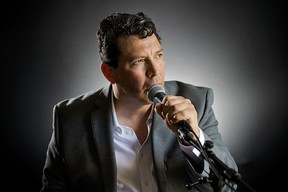 Alejandro Quintanilla, lead singer and rhythm guitarist of London-based Latin jazz band Soles Haven, will be performing with his band at the Sarnia Public Library auditorium on Sept. 25 to raise funds for the Alzheimer's Society of Sarnia-Lambton.  submitted photo for SARNIA THIS WEEK