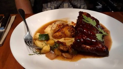 Dinner at Joey Burrards in Vancouver by Donna Marie Kelly. Theme: Foodie trips (Aug. 6, 2015)