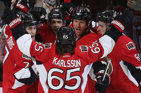 The Senators are expected to make another trip to the playoffs this season. (Postmedia Files)