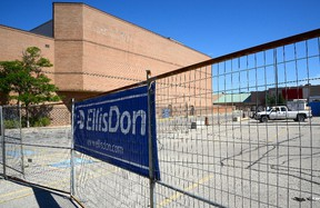 Renovation has begun on the former Sears department store in Masonville Place. (MORRIS LAMONT, The London Free Press)