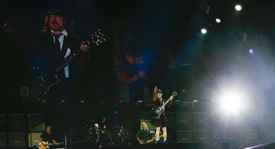 Angus Young AC/DC played a thunderous set at Downsview Park to over 40,000 fans during their Rock or Bust World Tour in Toronto, Ont. on Thursday September 10, 2015. Jack Boland/Toronto Sun/Postmedia Network