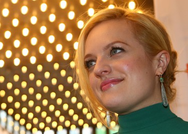 Elisabeth Moss on the Red Carpet for movie Truth during the Toronto International Film Festival in Toronto on Friday September 11, 2015. Dave Abel/Toronto Sun/Postmedia Network