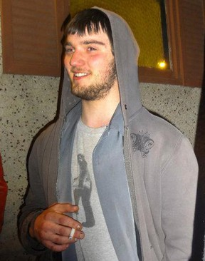 Derek Saretzky, 22, of Blairmore, Alta. faces charges in the deaths of Hailey Dunbar-Blanchette and her father Terry Blanchette.  Facebook photo