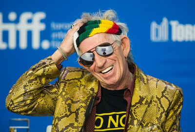 Keith Richards during a press conference for the documentary Keith Richards: Under the Influence during the Toronto International Film Festival in Toronto on Thursday September 17, 2015. (Ernest Doroszuk/Postmedia Network)
