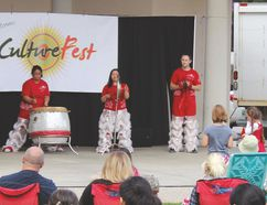 There was plenty of entertainment and activities at this year's CultureFest. (JOEL NICKEL/WINKLER TIMES)