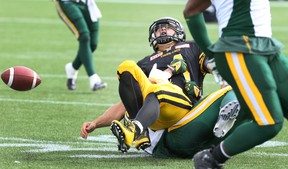 Zach Collaros is the latest CFL starter to suffer an injury (Peter Power, The Canadian Press).